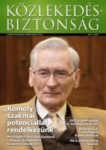 Közlekedésbiztonság 2015. - 2. szám Parancsikon
